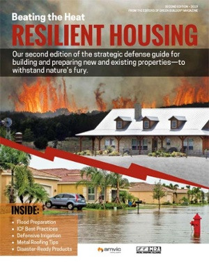 Cover for the Resilient Housing Design Guide