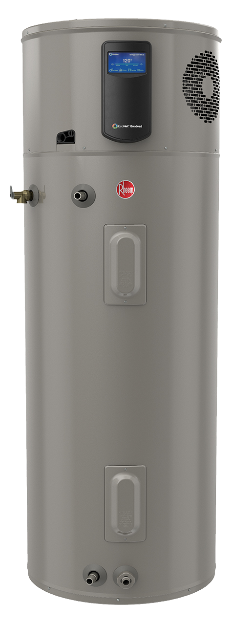 Picture of the Rheem Hybrid Build Model 80 Gallon Electric Tank
